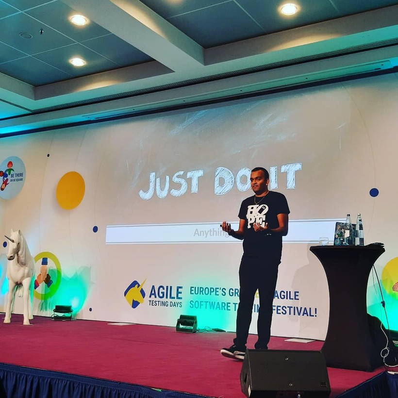Agile Testing Days 2019 - Just do it